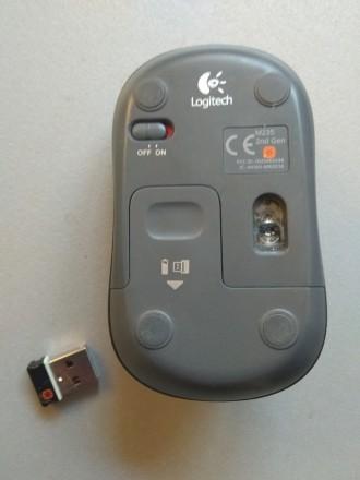 Описание Мышь Logitech M235 Wireless Black (910-002201) Вы непременно оцените к. Луцк, Волынская область. фото 4