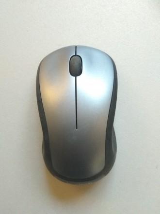 Описание Мышь Logitech M310 Wireless Silver (910-003986) Благодаря эргономичной. Луцк, Волынская область. фото 2