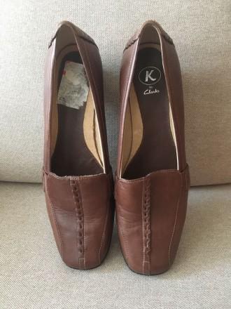 Кожаные туфли Clarks. Чернигов. фото 1