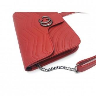 Маленькая стеганная сумка GG Marmont - является репликой известного итальянского. Запорожье, Запорожская область. фото 5