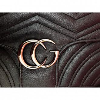 Маленькая стеганная сумка GG Marmont - является репликой известного итальянского. Запорожье, Запорожская область. фото 7