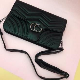 Маленькая стеганная сумка GG Marmont - является репликой известного итальянского. Запорожье, Запорожская область. фото 10