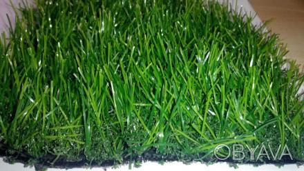 PRO 12 мм (плотная декоративная трава с завитыми концами высотой 10мм)  Цена з. Сумы, Сумская область. фото 1