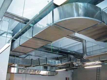 Вентиляция - промышленная, бытовая. Вытяжные зонты, Воздуховоды, Двигатели.. Днепр. фото 1