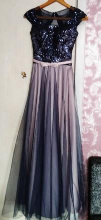нарядное платье в пол. Сумы. фото 1