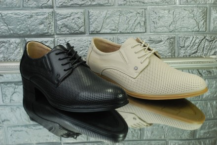 Мужские летние туфли на шнуровке. Киев. фото 1