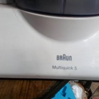 Кухонный комбайн Braun Multiquick 5 K700 - это универсальный помощник на кухне, . Киев, Киевская область. фото 4