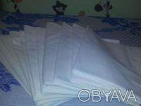 Пеленки белые 100% хлопок многоразовые разных размеров самодельные. Кривой Рог. фото 1