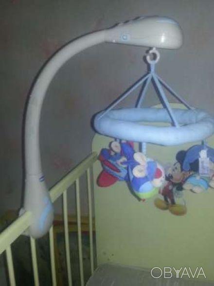 Музыкальная подвеска-мобиль-игрушка Кролики, Chicco (Чико) - оригинальная игрушк. Кривой Рог, Днепропетровская область. фото 1