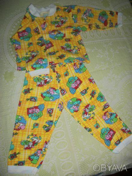 пижама практически новая, утепленная, без дефектов, пятен и повреждений, застежк. Дніпро, Дніпропетровська область. фото 1