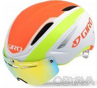 Велошлем с визором Giro Air Attack Shield. Киев. фото 1