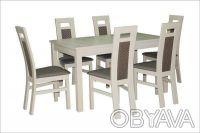 Стіл дерев'яний розкладний Модерн стол. Чернигов. фото 1