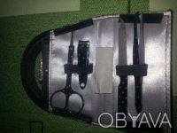 Маникюрный набор в виде сумочки, черный, новый. Кривой Рог. фото 1