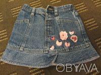 джинсовая юбочка на 1,5-2,5 годика. Киев. фото 1
