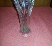 Ваза для цветов, стекло. Кривий Ріг. фото 1