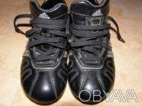 Продаю детские бутсы adiNova adidas, оригинал, размер 29, цвет черный. Стельки н. Киев, Киевская область. фото 2