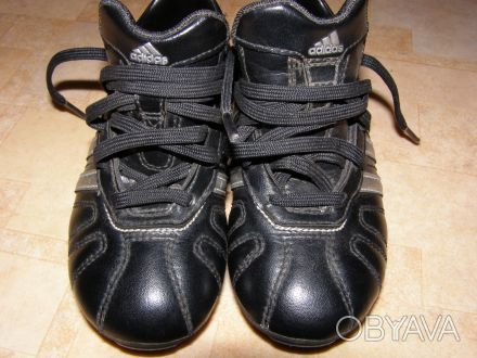 Продаю детские бутсы adiNova adidas, оригинал, размер 29, цвет черный. Стельки н. Киев, Киевская область. фото 1