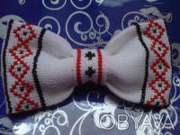 Продам бабочки для мальчиков ручной работы. Есть оформлены ручной вышивкой и уже. Киев, Киевская область. фото 6