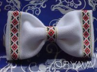 Продам бабочки для мальчиков ручной работы. Есть оформлены ручной вышивкой и уже. Киев, Киевская область. фото 5