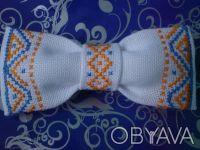 Продам бабочки для мальчиков ручной работы. Есть оформлены ручной вышивкой и уже. Киев, Киевская область. фото 8