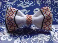 Продам бабочки для мальчиков ручной работы. Есть оформлены ручной вышивкой и уже. Киев, Киевская область. фото 7