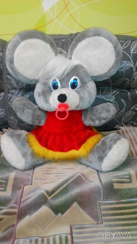 """Продам игрушку мягкую """"мышка с пустышкой"""", в идеальном состоянии, можно сказать . Київ, Київська область. фото 1"""