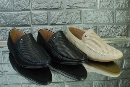 Классические мужские туфли на лето. Киев. фото 1