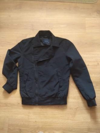 Легенька, куртка-бомбер Zara men (Іспанія), стан ідеальний, р. S(36),. Киев. фото 1