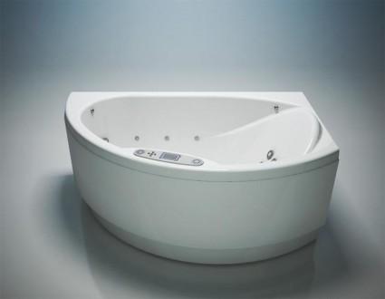 Гидромассажная ванна WGT Nostalgia 171x111 digital правая. Чернигов. фото 1