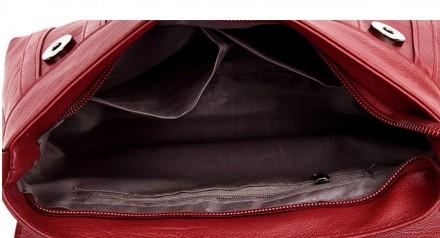 Материал экологическая кожа Внутри один отдел и 3 кармана, один из которых на мо. Запорожье, Запорожская область. фото 7