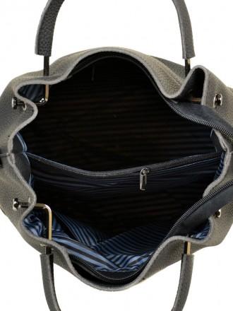 Материал экологическая кожа Внутри один отдел, перегородка на молнии и 3 кармана. Запорожье, Запорожская область. фото 5