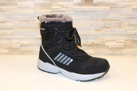 Ботинки женские зимние черные код С768 40. Запорожье. фото 1