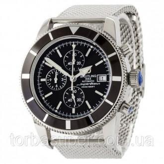 Breitling Superocean Heritage Chronographe Bracelet Silver-Black. Днепр. фото 1