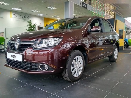 Renault Logan 1.6 MPI MT Expression. Киев. фото 1