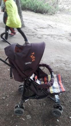 В хорошем состоянии Прогулочная коляска Geoby D208R отлично подойдет для летних. Чернигов, Черниговская область. фото 4