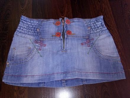 Джинсовая юбка отличного качества Gloria Jeans. Торецк (Дзержинск). фото 1