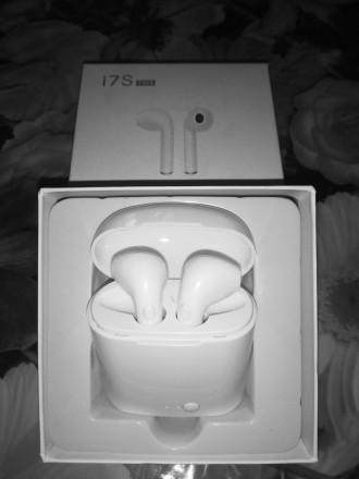 Беспроводные  наушники I7s TWS Bluetooth (Airpod Apple)  Удобные беспроводные . Козелец, Черниговская область. фото 3