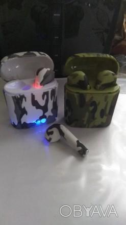 Беспроводные  наушники I7s TWS Bluetooth (Airpod Apple)  Удобные беспроводные . Козелец, Черниговская область. фото 1