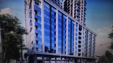 Квартира площадью 57м,кухня-студия 22м,шикарный витражный балкон.Дом рассположен. Печерск, Киев, Киевская область. фото 2