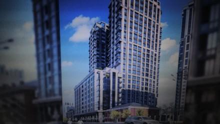 Квартира площадью 57м,кухня-студия 22м,шикарный витражный балкон.Дом рассположен. Печерск, Киев, Киевская область. фото 9