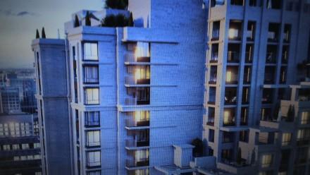 Квартира площадью 57м,кухня-студия 22м,шикарный витражный балкон.Дом рассположен. Печерск, Киев, Киевская область. фото 3