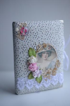 М'який щоденник (блокнот) ручної роботи (арт 003). Сумы. фото 1