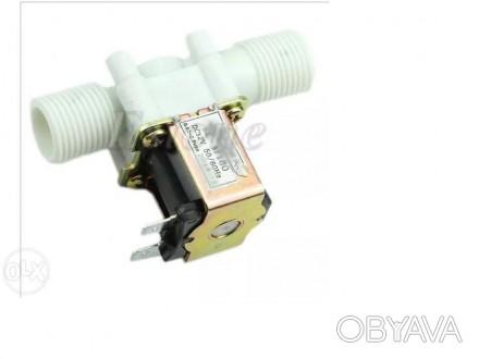 Электромагнитный клапан 12 24 и 220V для воды электроклапан соленоид
