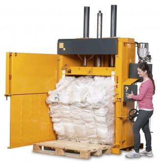 Пресс упаковочное оборудование (Пресс макулатурный усилие 32 тонны). Киев. фото 1