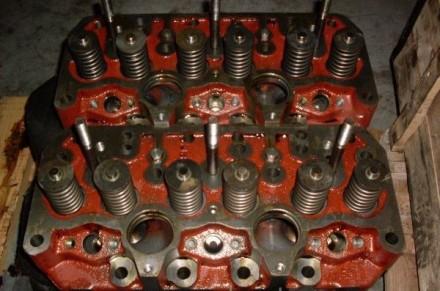 Головка блока цилиндров Д-260 МТЗ-1221 в сборе (260-1003012 СБ). Мелитополь. фото 1