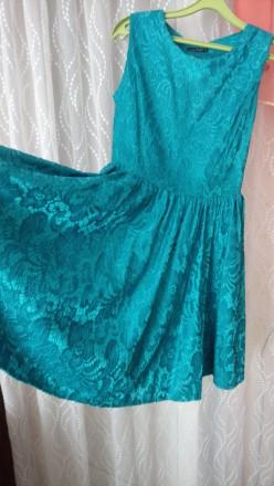 Красивое платье, одето всего  пару раз, молния сбоку.. Кременчуг, Полтавская область. фото 3