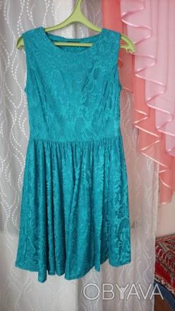 Красивое платье, одето всего  пару раз, молния сбоку.. Кременчуг, Полтавская область. фото 1
