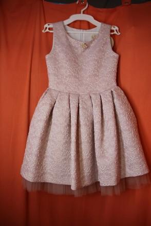 Нарядне плаття для дівчинки ТМ Зіронька Розм. 134-140-146. Вінниця. фото 1