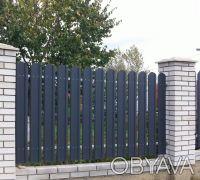 Производство металлических заборных планок для набора на секцию по размерам зака. Киев, Киевская область. фото 7