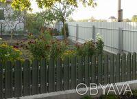 Производство металлических заборных планок для набора на секцию по размерам зака. Киев, Киевская область. фото 6